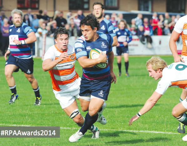 . @RotherhamRugby's @MamutSocino! He is the 2014 @ChampRugby Player of the Year #RPAAwards2014 http://t.co/fQSdNTcrQm