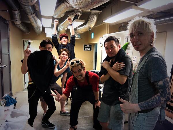 本日の渋谷CLUB QUATTROには、アニメ「サムライフラメンコ」主人公・羽佐間正義役の声優・増田俊樹さんがライブを観