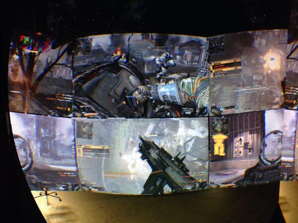 I wonder what a Titanfall VR LAN would look like and what you would do between rounds. Huddle? http://t.co/Jp9Tbz0bLJ