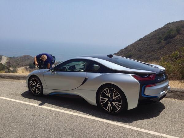 Found a nice spot to shoot the @BMWiUSA i8 http://t.co/otVBMTRsGF