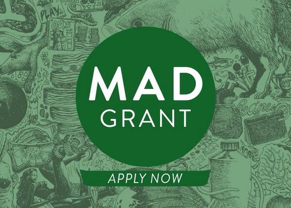 APPLY NOW! RT @TheMADFeed is thrilled to announce the MAD Grant, bringing young chefs to #MAD4 http://t.co/rtXv3HlY7x http://t.co/ac4vkqq9fC