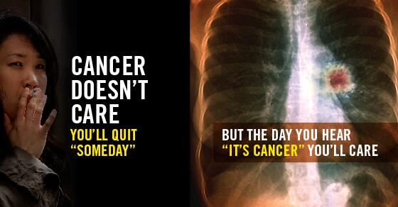 Cancer doesn't care that you plan to quit smoking. Why wait? Visit http://t.co/qav2FStqOW or call 311 for free help. http://t.co/9BZffIny8G