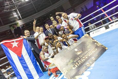 Full report of @DomadoresCuba win over @TheBakuFires as they won the WSB Season IV title. http://t.co/NSFwfFGhjr http://t.co/M3qvt3ZYUg