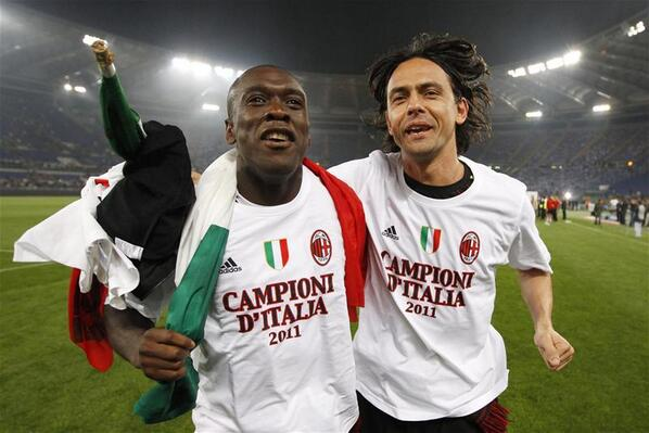 BpsCGexCAAEu0hW Pippo Inzaghi replaces Clarence Seedorf as AC Milan coach [Best of the Twitter reaction]