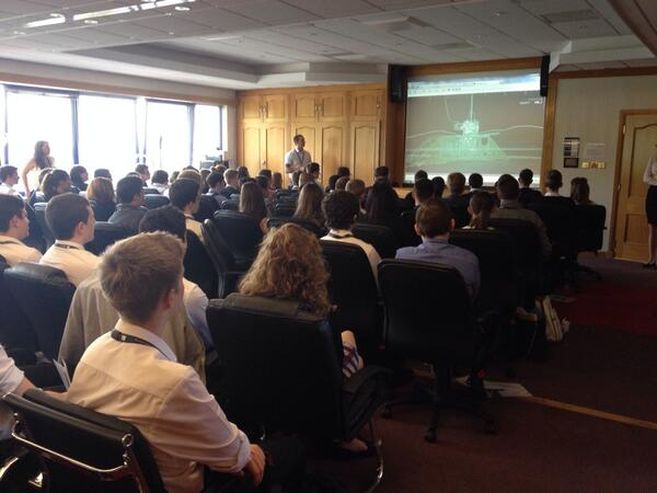We're delighted to host more than 100 school pupils in Aberdeen for a subsea experience day #OPITOatAkerSolutions http://t.co/1AWbuhtdsw