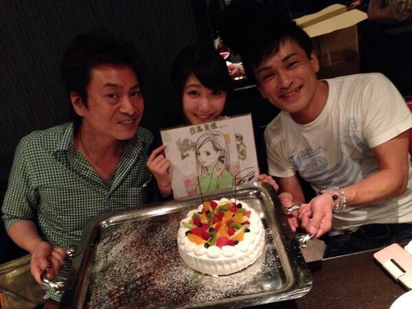 楓の誕生会なう! http://t.co/jkfCrhBqmF