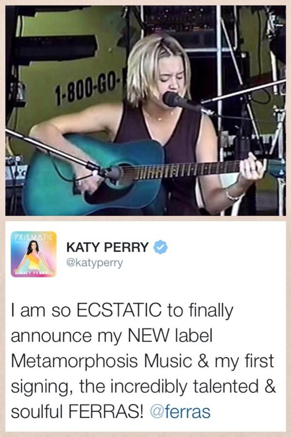 from there to her own label. so proud ❤️ http://t.co/vyFj9r0Jvt