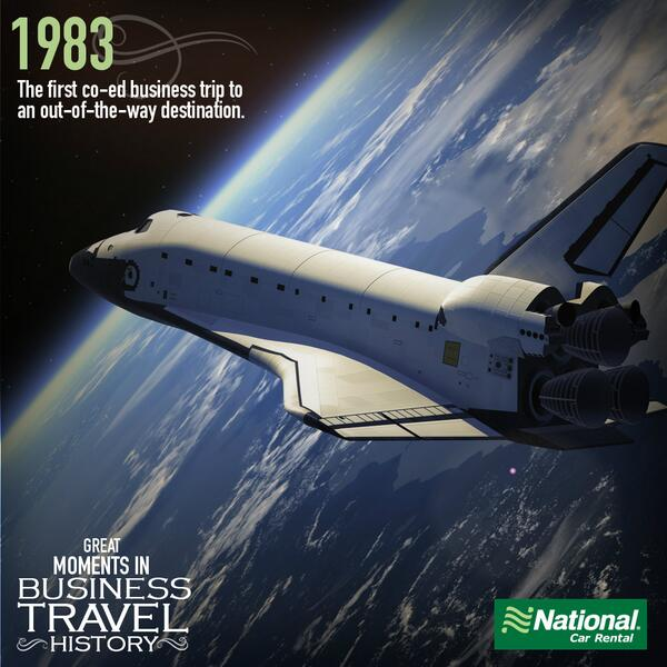 Today we remember the anniversary of Sally Ride becoming the first American woman in space. http://t.co/N4wlglwS9i