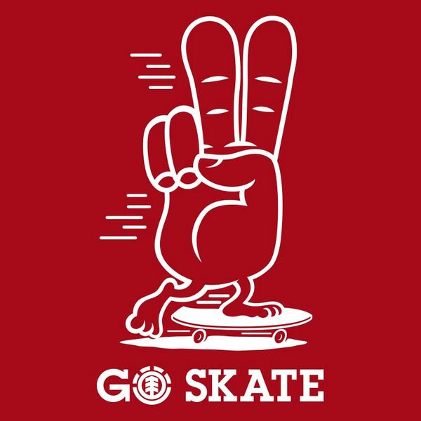 Happy #GOSKATEDAY from all of us at Element Skateboards http://t.co/THOTwGMLf7