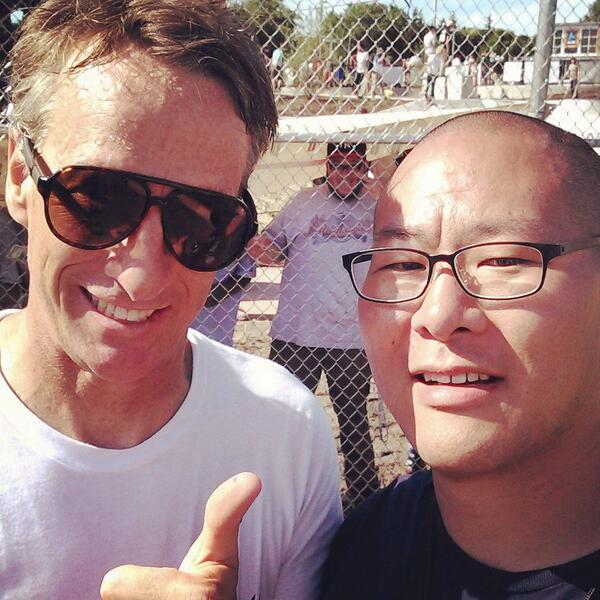 Stoked to have @tonyhawk at our @a2skatepark grand opening! #annarbor http://t.co/ZQGOABG4Gl