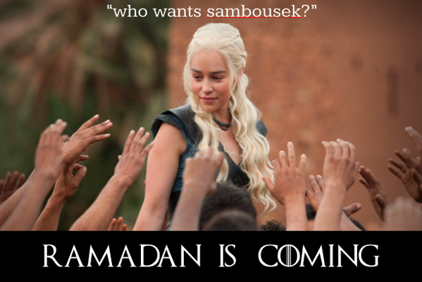 """who wants sambousek?"" #RamadanIsComing http://t.co/stxEz5QQUq"
