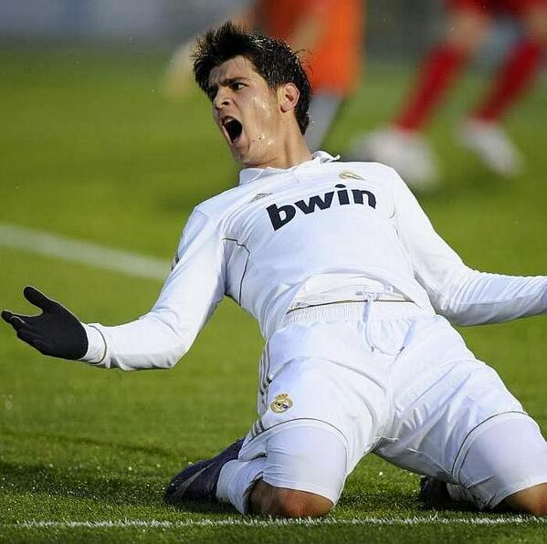 Br4v4E8CMAA7UND Alvaro Morata agrees to Juventus move but Real Madrids €25m valuation stalling deal