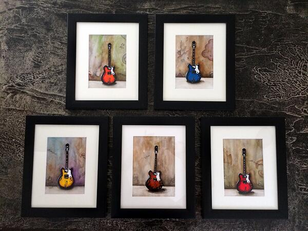 The whole GUITAR series... #art http://t.co/PM1GdhzR6e