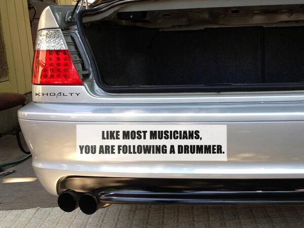 #Drummers are born leaders. http://t.co/tQp9Ox5BQb