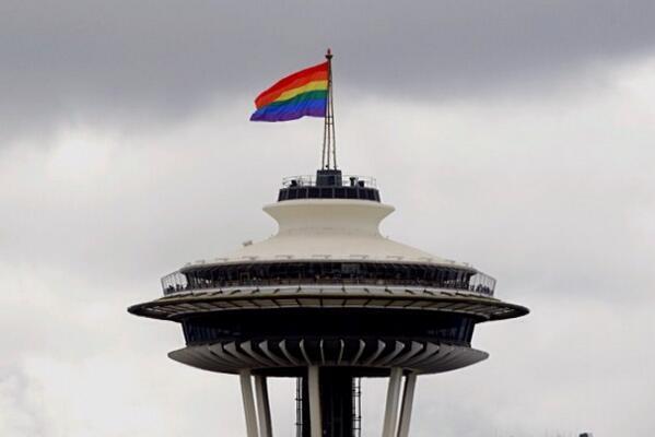 Happy #Pride, Seattle! http://t.co/h6S0hv4zRr