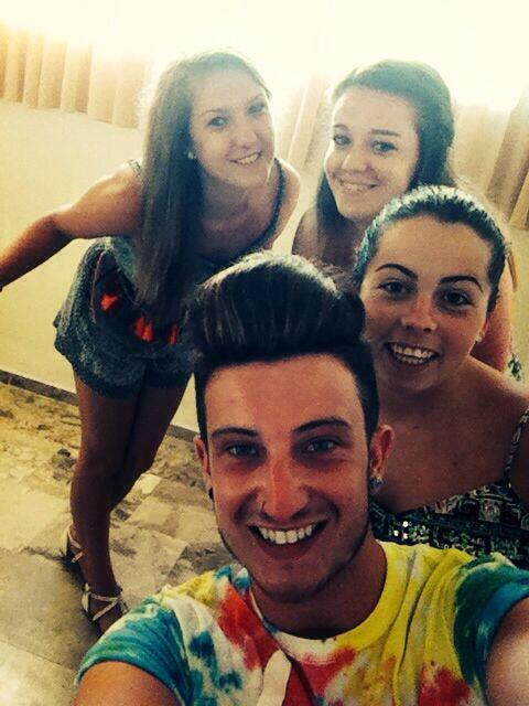 Just one of our nightly selfies in zante!
