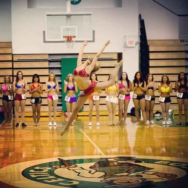 .@CelticsDancers auditions kicked off on Saturday in Waltham & wrap up tonight in Boston. Who will make the team? http://t.co/izEePZcGdB