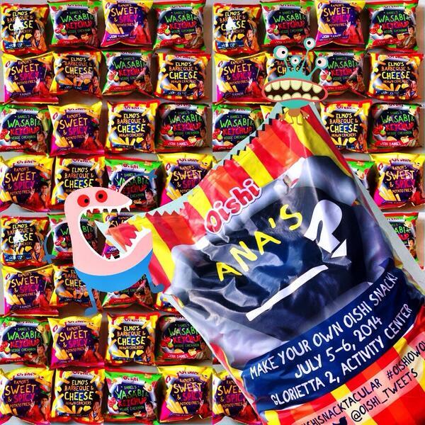 Meet Daniel Padilla, Kathryn Bernardo, Elmo Magalona, etc on July 6 Glorietta for #OishiSnacktacular @oishi_tweets