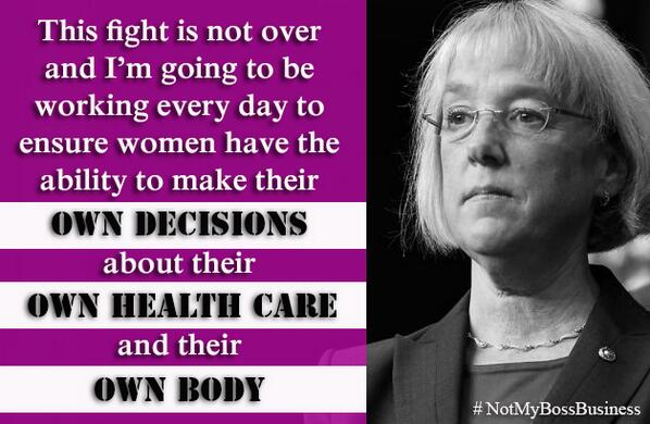 Your health care decisions are not your boss's business -- period. #NotMyBossBusiness #SCOTUS #HobbyLobby http://t.co/H5Gl8fEq35
