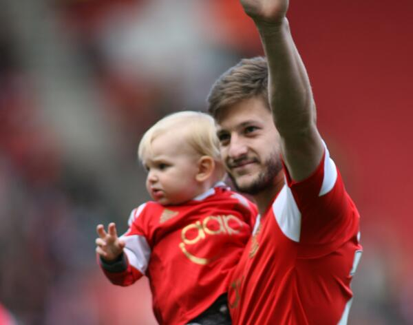 Adam Lallana has taken a full page advert in tomorrow's @dailyecho to say thanks to all #saintsfc fans. http://t.co/M0PqP2Jyjw