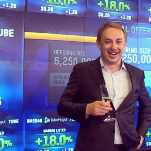 Cheers to our amazing CEO, @bjwilson34! #tubeipo http://t.co/Xs9F2OSmd9