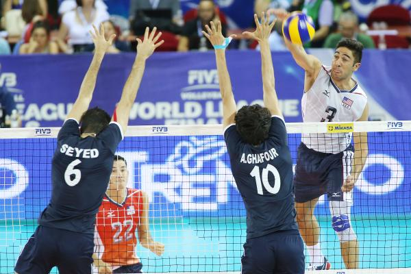 Read all about the USA's 3-0 win over Iran in Saturday's 1st #FIVBWorldLeague semifinal.