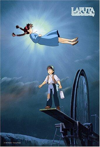 【ラピュタで一言】『親方ァァ!!空から女の子がァ!!』 『ほっとけ!!!手を休めるな!!!』