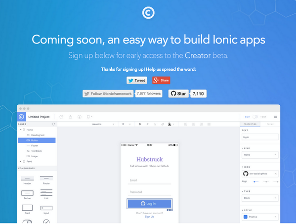 Coming soon, an easy way to build Ionic apps - @Ionicframework http://t.co/6mqm670n3g #angularjs #phonegap http://t.co/KFwuFhtjOL