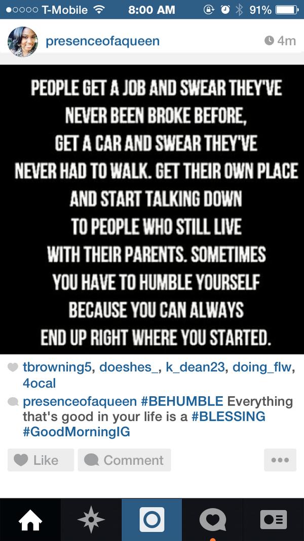 Stay Humble http://t.co/e8siu6gaU5
