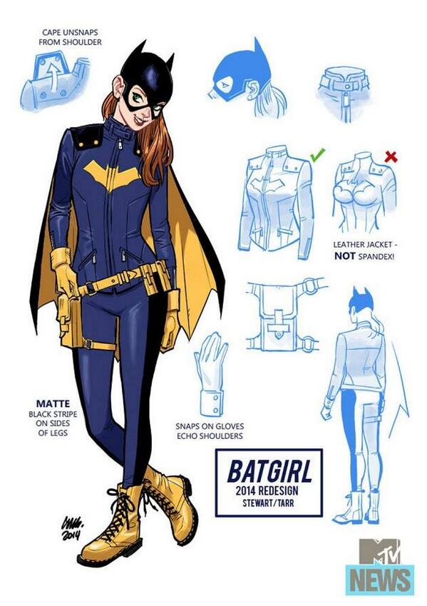How great is this new Batgirl costume? http://t.co/xmQMO2lS4U