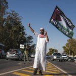 RT @Shahidmasooddr: Thanks South African Friend for protest at Israeli Embassy. #PrayForGaza #GazaUnderAttack http://t.co/bLDWfpOnxr