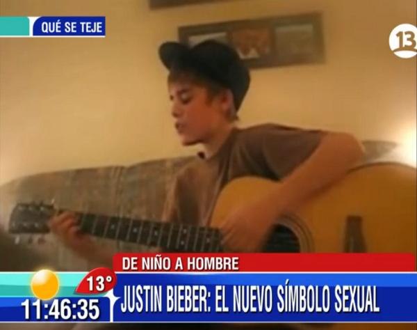 #Bienvenidos13 (@Bienvenidos13): Justin: de YouTube a estrella mundial. AHORA en el #Bienvenidos13! http://t.co/4ag2gTIkEE
