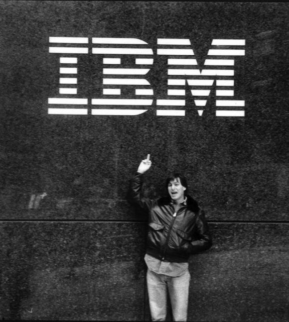 Apple announced today a partnership with IBM. Steve Jobs shares his thoughts circa 1983… http://t.co/Mhw0kVfsvN