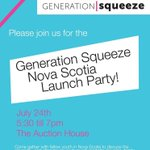 RT @GenSqueeze: Meet @GenSqueeze tomorrow in #Halifax 5:30pm for discussion on jobs, cost of housing, childcare #NovaScotia http://t.co/BSYiz6ydw8