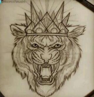 лев тату значение, эскизы, фото TattooFotos