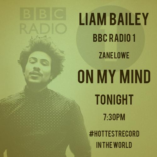 Tonight! @zanelowe will be spinning 'On my mind' as his #HottestRecord in the world on @BBCR1 . Tune in from 7:30pm! http://t.co/GllC6mkZOf