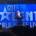 Back from @ColorsTVs #GotTalentWS event. @iamsrks wit & charm is so so amazing! http://t.co/gZzvl4n7wS