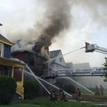 Buffalo Fire on the 800 Block of Elmwood Ave. for major house fire. http://t.co/KCU6ULvCz2