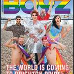 Thanks to @BoyzMagazine for the lovely cover, see you this Saturday at @PrideBrighton Tickets http://t.co/RVa63Fmnv3 http://t.co/u6XTTyLcDh