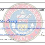 Gov Hickenlooper delivered $1.154 M in disaster reimbursement funds to @bouldercounty today #COFlood http://t.co/yGUjvrRFnW