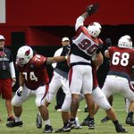 RT @theAdamGreen: .@ddockett, pass play ruiner. #CardsCamp http://t.co/wnea33YS1e