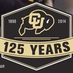 "RT @BupsJones: ""125 Years"" Colorado Buffaloes Football Logo @sportslogosnet #GoBuffs http://t.co/UIO3eO50qC"