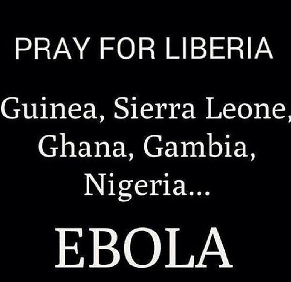 #PrayForWestAfrica