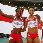 RT @BBCSport: Watch Jodie Williams and Bianca Williams win 200m medals (UK users only) #Glasgow2014 http://t.co/K3fWYtlO1m http://t.co/Oe4jvxaaaK