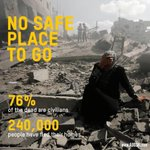 240,000 in #Gaza have fled homes & have nowhere to go. 76% killed are civilians #FreePalestine http://t.co/pz3mJubvWi http://t.co/hWQq9L4SQe