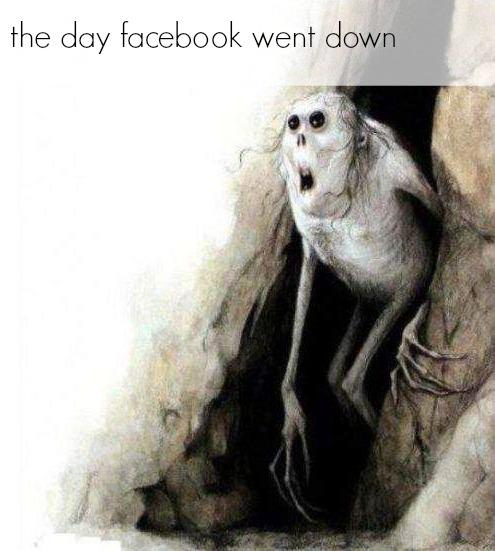 come to the light, my friends #facebookdown http://t.co/6dM9iXt9Gk
