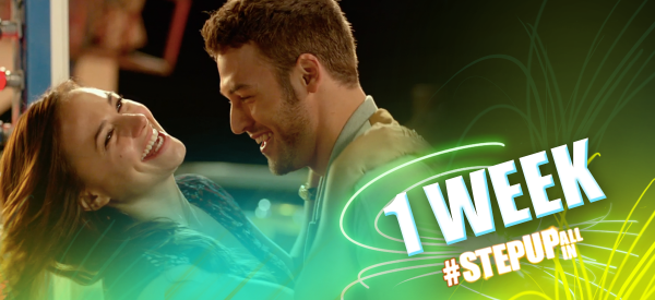 Every step has led to this… #StepUpALLin opens in one week! http://t.co/qoteIiOFkb