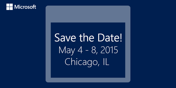 At last the details you have been waiting for!  http://t.co/yei3g6TqKE Join us May 4-8, 2015 in Chicago! http://t.co/vFhIkzCr3h