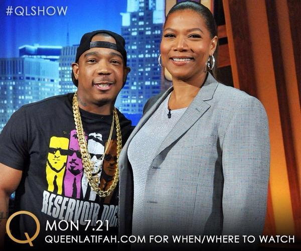 Tune in now to @qlshow and catch me talk candidly wit my sis @IAMQUEENLATIFAH