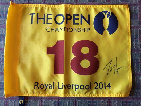 Couple of giveaways for the last week of #RBCGolf4Kids! Please RT for a chance to win an Open signed flag! #RBCHearn http://t.co/D3ISTsxdMa
